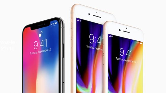 iPhone 8 disponible à Bruxelles